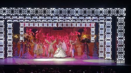 The Alban Arena's production of Cinderella.