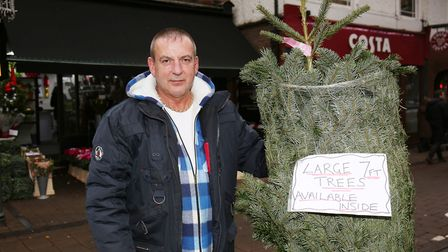 Reads of Harpenden shop manager Graeme Gardner outside the store. Picture: DANNY LOO