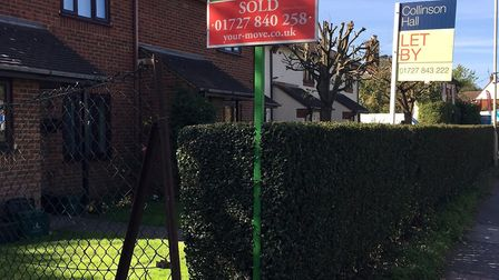 The median rent in the St Albans area is £1,202, compared to a typical monthly mortgage repayment of