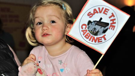 Pop-up pub nights at Reed Village Hall have been held to raise funds for the Save the Cabinet campai