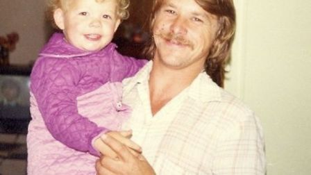 Stacey Turner and her dad Robert.
