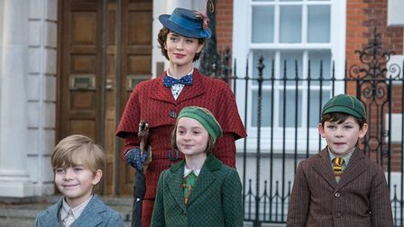 Emilty Blunt is Mary Poppins