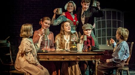 Company of Ten presents A Christmas Carol at the Abbey Theatre in St Albans. Picture: Nick Clarke /