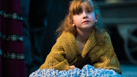 The Company of Ten's production of A Christmas Carol at the Abbey Theatre in St Albans. Picture: Ann