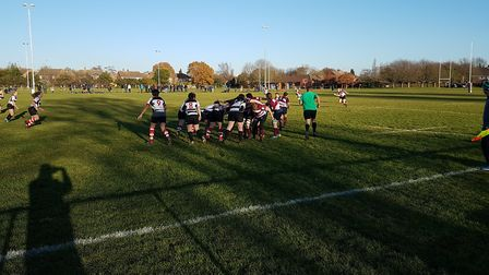 Welwyn Ladies just edged a superbly-entertaining clash at home to Harpenden.