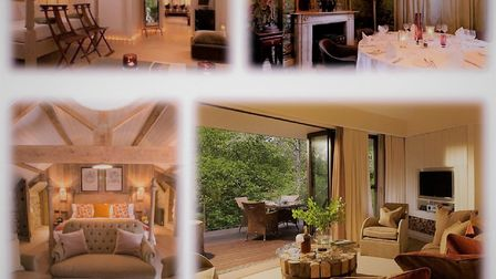 Inspirational for different reasons: wow factor rooms at, clockwise from top left, The Hempel, The I