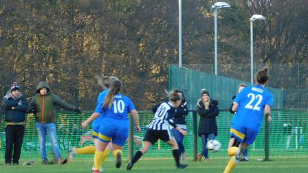 Colney Heath Ladies took the derby spoils as they beat St Albans Ladies 3-0 in the County Cup.