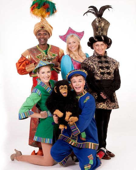 Aladdin is playing at the Cambridge Arts Theatre
