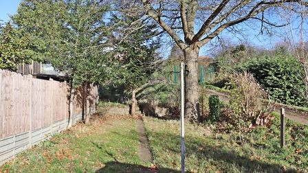 The rear garden extends to more than 100ft. Picture: Paul Barker Estate Agents