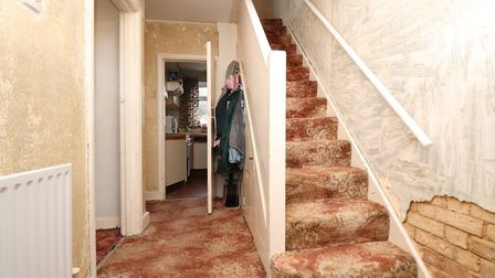 The front door leads into a small hallway. Picture: Paul Barker Estate Agents