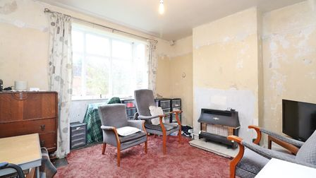 The living room has a double glazed box bay window. Picture: Paul Barker Estate Agents