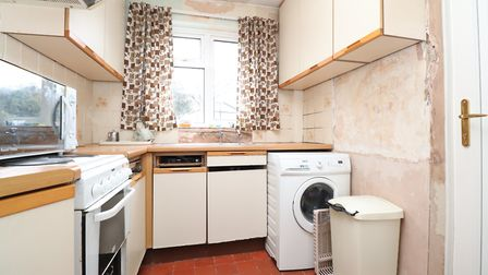 Access to the rear garden is via the kitchen. Picture: Paul Barker Estate Agents