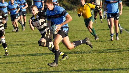 Callum Austen raced in for a try as St Neots beat Stockwood Park.