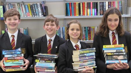 The BVC team for the annual Kids' Lit competition. Picture: BVC