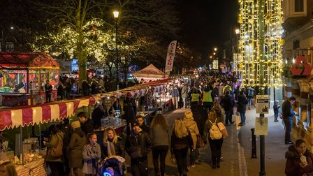 Harpenden Christmas lights switch-on 2017. Picture: Harpenden Photographic Society