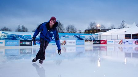 The North Pole Cambridge will be back this winter and you could be there for free.