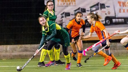 St Albans Hockey Club played three junior games against the Australian Wanderers with the U16 girls