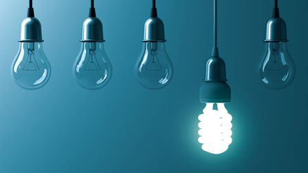 Sustainable lighting is an easy way of helping the environment. Picture: Thinkstock/PA