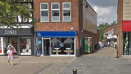 The O2 shop in St Peter's Street, St Albans. Picture: Google Maps