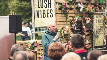 Tom Kerridge will bring his Pub in the Park to St Albans.