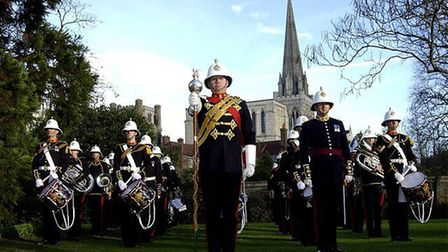 The Royal Marines Band Portsmouth will perform at the Alban Arena. Picture: Submitted by Rotary Club