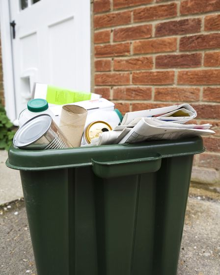 Richard regularly reorganises his neighbours' recycling. Picture: Getty
