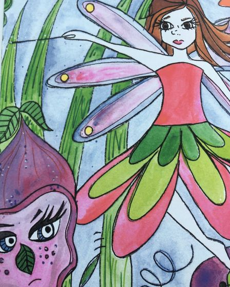 Catherine Mead's illustrations for 'The Fairy Who Wouldn't Give Up'. Picture: Catherine Mead