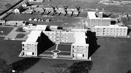 Luton & Dunstable Hospital when it first opened. Picture: Luton & Dunstable Hospital