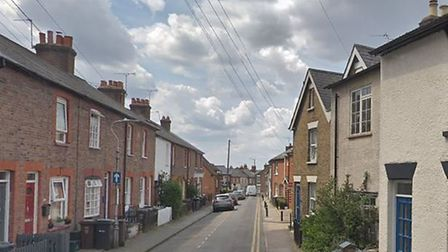 A trespasser stole nearly £5,000 worth of items from a property in Church Street, St Albans. Pictu