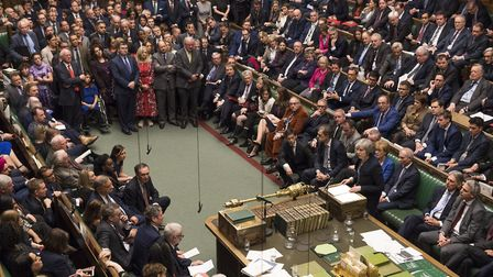 The Meaningful Vote in Parliament on Tuesday, January 15. Picture: UK Parliament/Mark Duffy