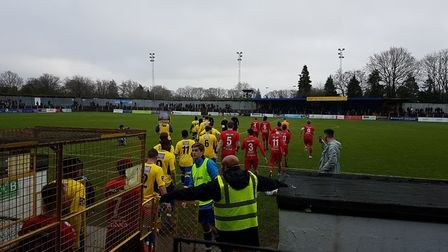 St Albans City hosted near neighbours Hemel Hempstead Town in a traditional Boxing Day match.