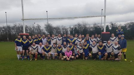 Players from Old Albanian, St Albans, Berkhamsted and host club Verulamians took part in an annual c