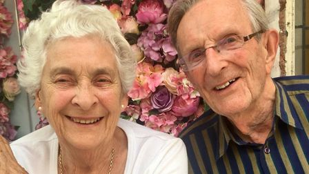 Ryland and Susan Clendon are celebrating 65 years of marriage. Picture: Tom Clendon