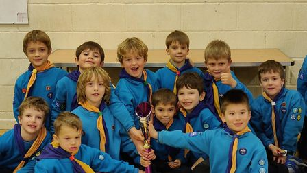 Beaver Scouts in St Albans raised money for charity with a funathon. Picture: St Albans Scouts