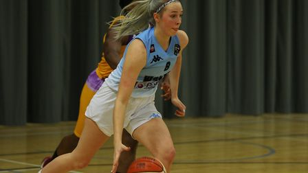 Oaklands Wolves V London Lions - Tia Freeman in action for the Oaklands Wolves.Picture: Karyn Had