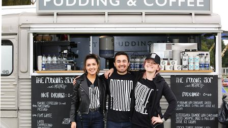 The Pudding Stop team at the Meraki Festival. Picture: Danny Loo