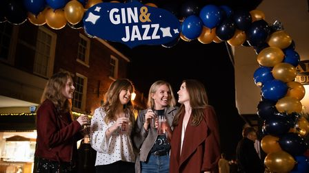 St Albans George Street Gin and Jazz event. About 5,000 people attended. Picture: Stephanie Belton