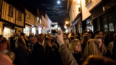 The George Street Gin and Jazz event organised by St Albans BID. Picture: Stephanie Belton