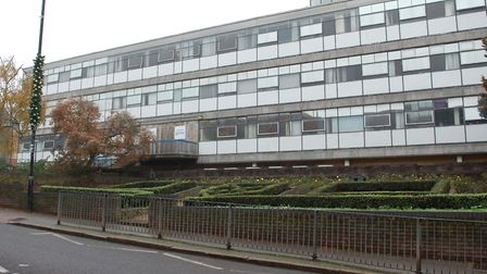 The former St Albans police station, which will be knocked down for the Civic Centre Opportunity Sit