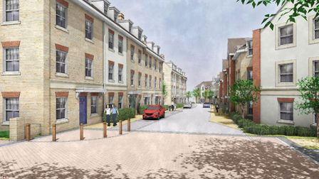 An artist's impression of how the development could look. Picture; CONTRIBUTED
