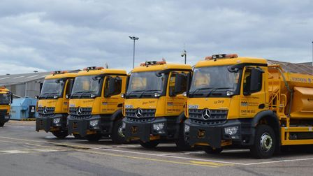 Cambridgeshire County Councils gritters will be on standby for the festive period.