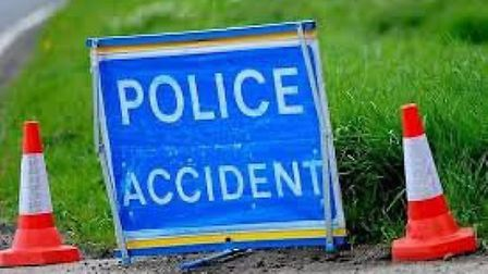 Two cars were involved in the crash at Somersham.
