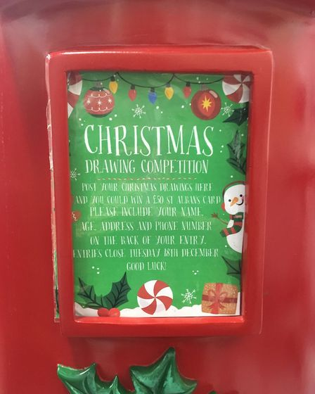 The fake postbox in Christopher Place which confused St Albans residents. Pictrue: Archant