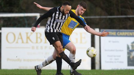 Chris Blunden scored his first goal for Colney Heath while Harpenden Town got the better of London C
