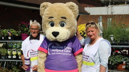 Collectors for Rennie Grove Hospice Care. Picture: Submitted by Rennie Grove Hospice Care