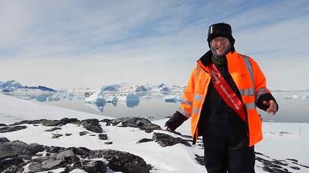 Hilary Blagbrough works for the British Antartic Survey