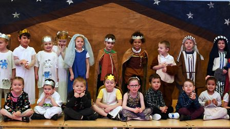 Nativity at Cromwell Academy in Huntingdon. Picture: ARCHANT