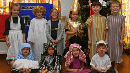 Priory Infants School nativity. Picture: ARCHANT