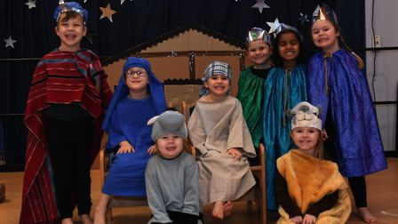 Roundhouse School nativity. Picture: ARCHANT