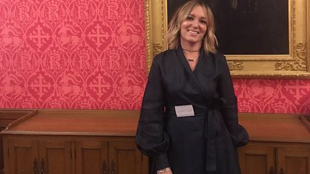 Deryane Tadd, of The Dressing Room on St Albans High Street, at House Of Lords' Cholmondeley Room, a